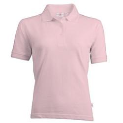 Dames Poloshirt katoen/polyester  Roze Sale