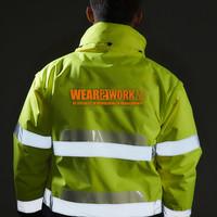 Het bedrukken van RWS werkkleding, 4 regels die je nog niet wist!