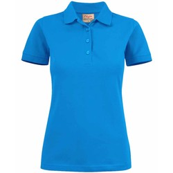 Dames poloshirt Surf stretch Printer