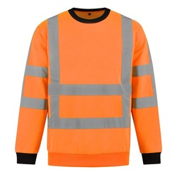 RWS Sweater high-visibility oranje