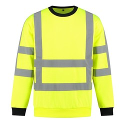 RWS Sweater high-visibility geel