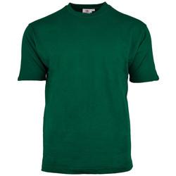 T-shirt ronde hals Groen