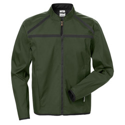 Softshell jas Fusion Fristads 4557 Groen