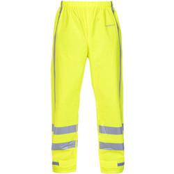 RWS regenbroek Hydrowear Oakland geel