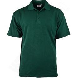 Poloshirt katoen/polyester Groen