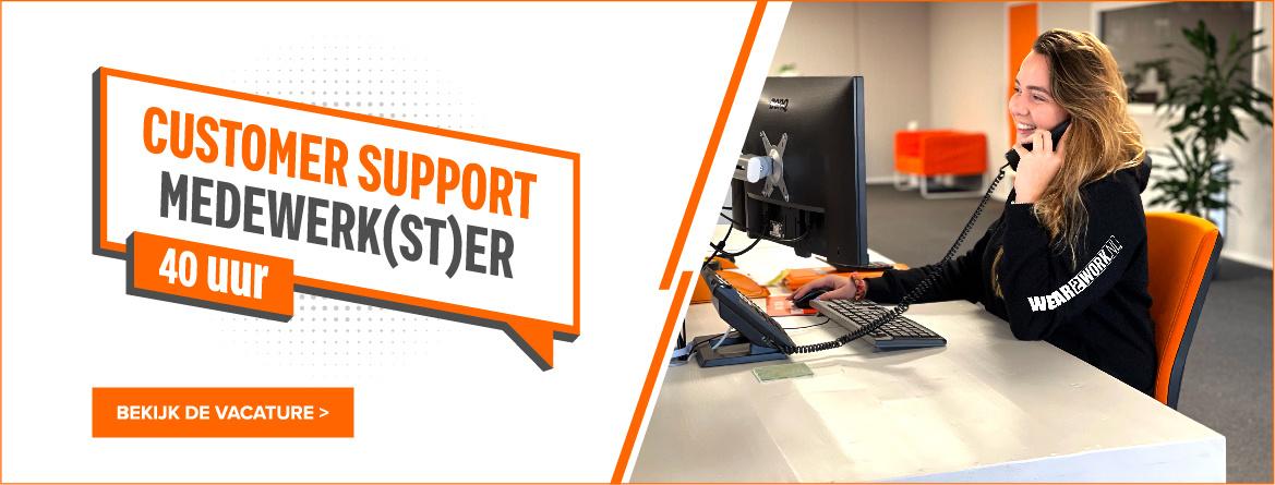 customer-support-vacature