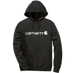 Carhartt sweater met capuchon Delmont zwart