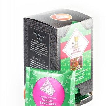 KT Vanille Lemongras, 15St. Triangelbeutel