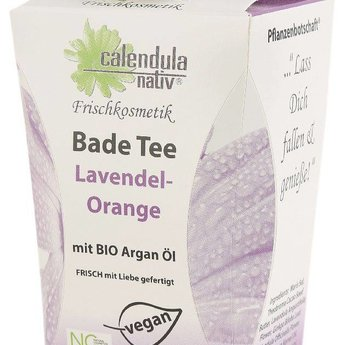 calena Badetee Lavendel-Orange, vegan