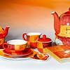 Serie Patricia Keramik Teebeutelablage