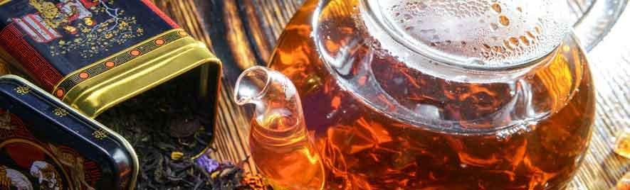 ...Schwarzer Tee in zahlreichen Varianten ...