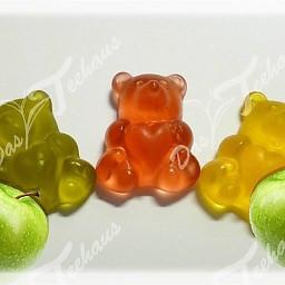 Apfelfruchtsaft-Bären, 500 g