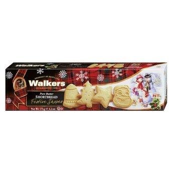 Walkers -Festive Shapes, 175 g