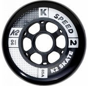 K2 90mm Inline Skate Wheels 8-pack