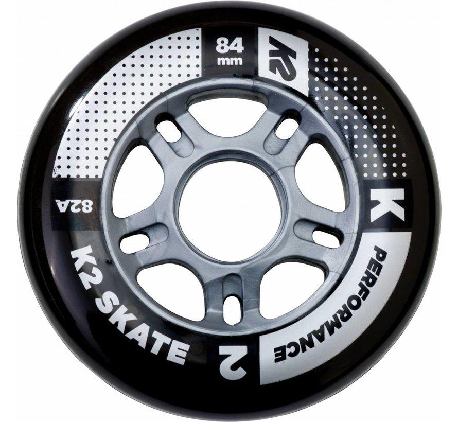 84mm Inline Skate Wielen 8-Pack