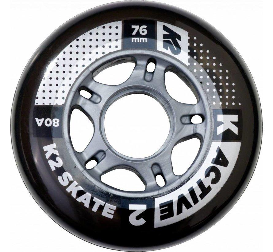 76mm Inline Skate Wielen 8-Pack