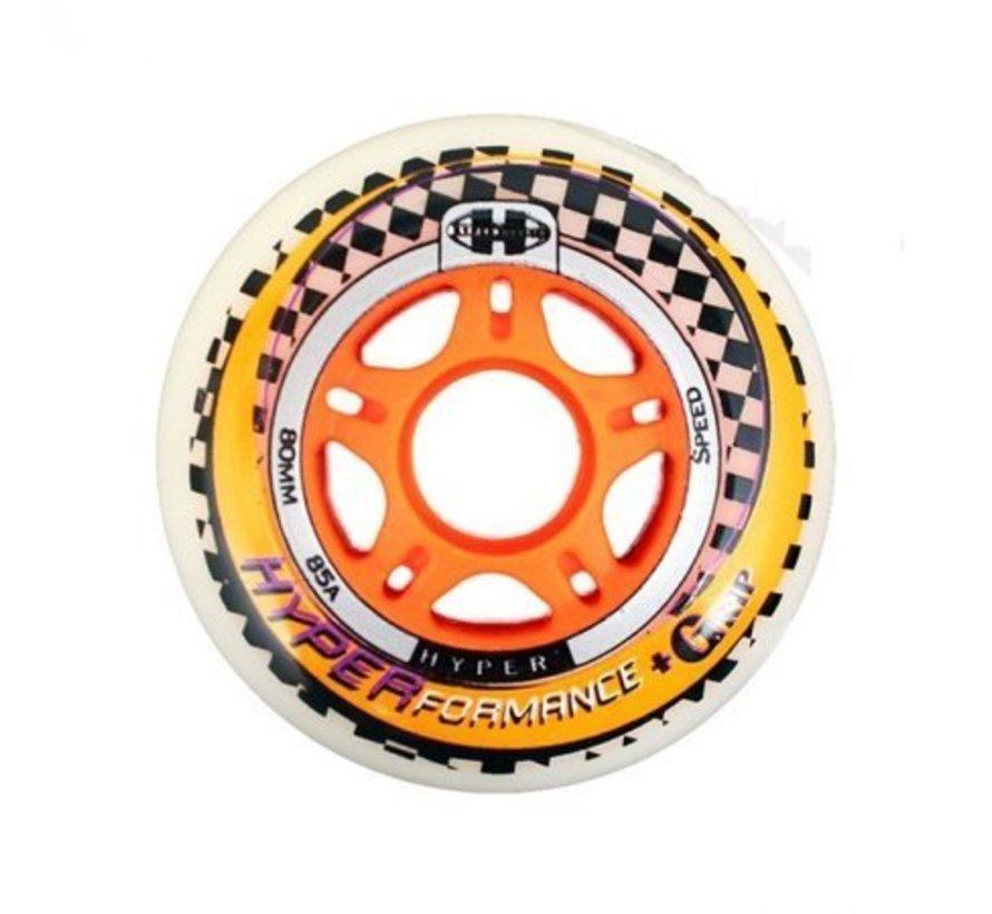 NX 360 Performance 90mm Inline Skate Wheels 8-Pack