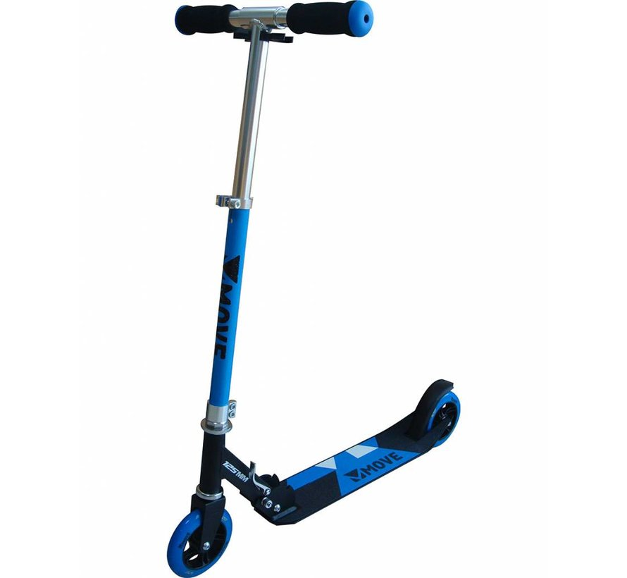 125mm Foldable Scooter Blue