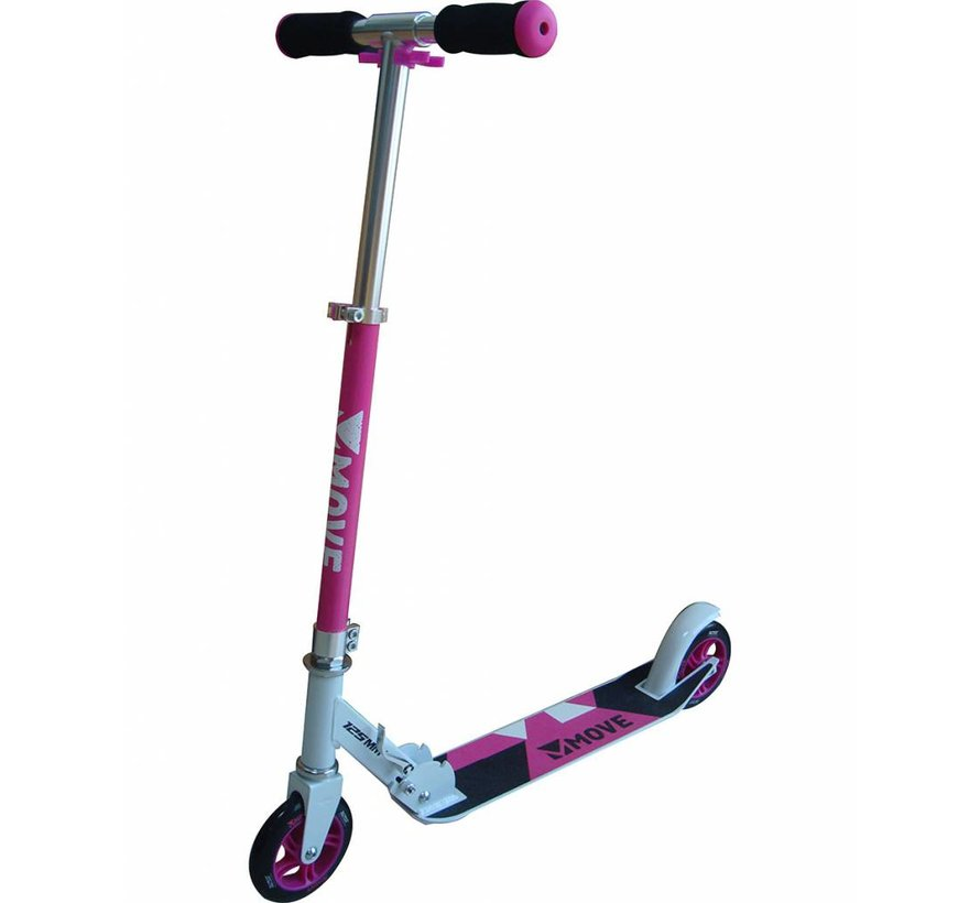 125mm Foldable Scooter Pink