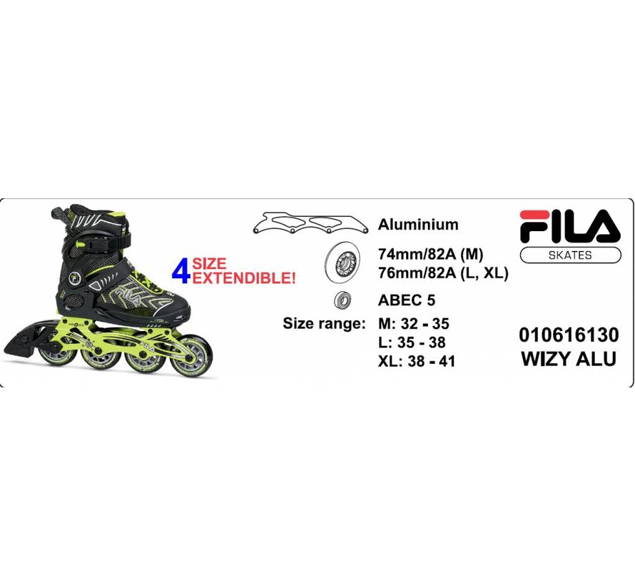 Wizy Alu Adjustable Kids Skates Girls 2019
