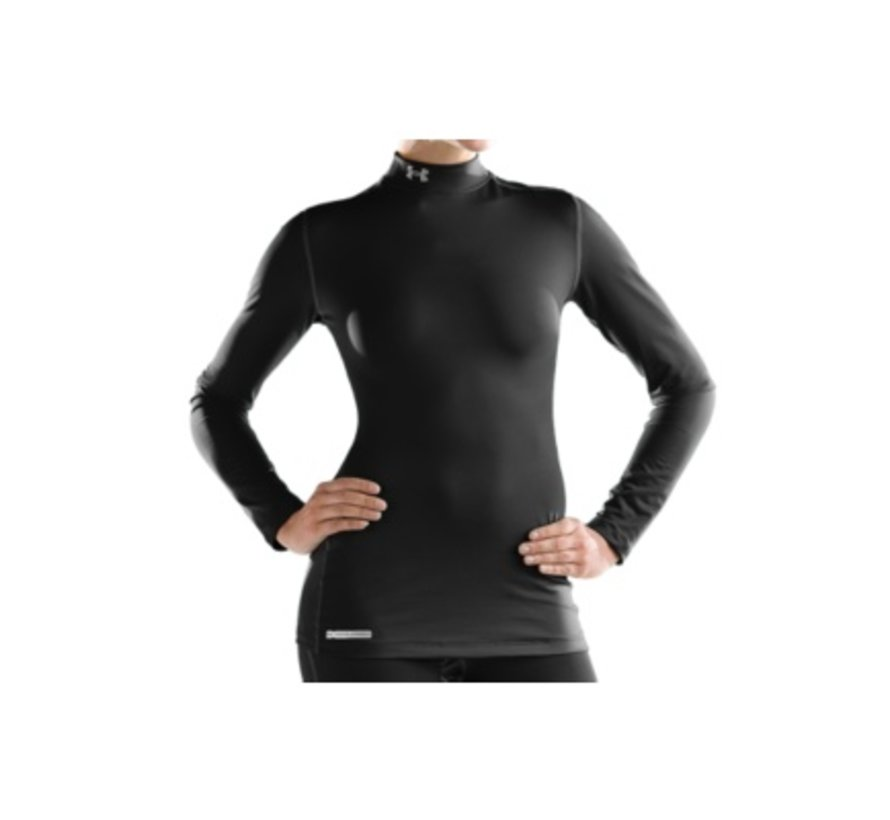 Coldgear Fitted Mock Thermo Shirt Dames