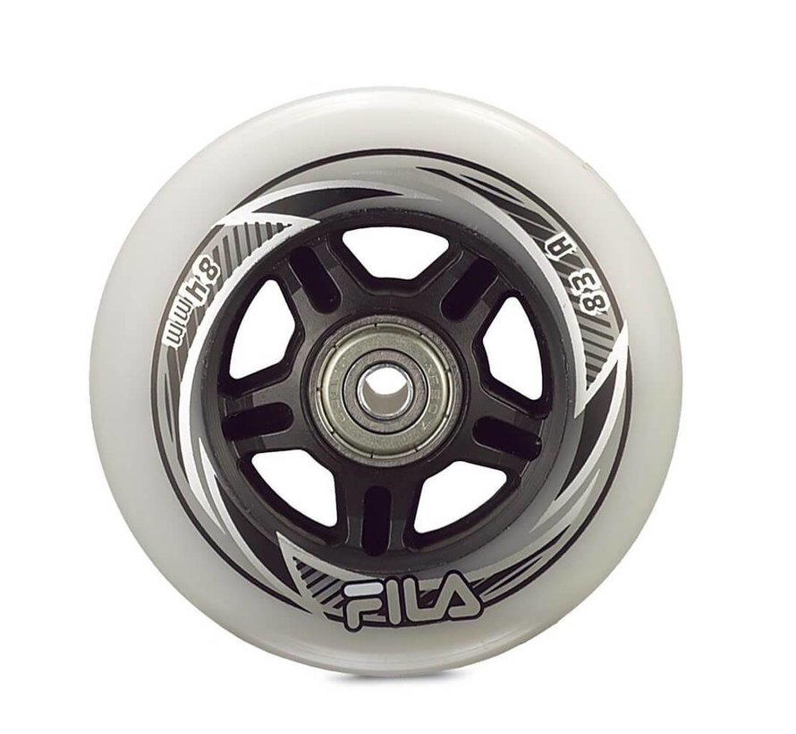 76mm Inline Skate Wheels 8-pack
