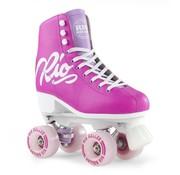 Rio Roller Script Quad Rollerskates Pink
