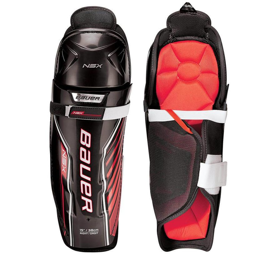 NSX Ice Hockey Shin Guards Senior