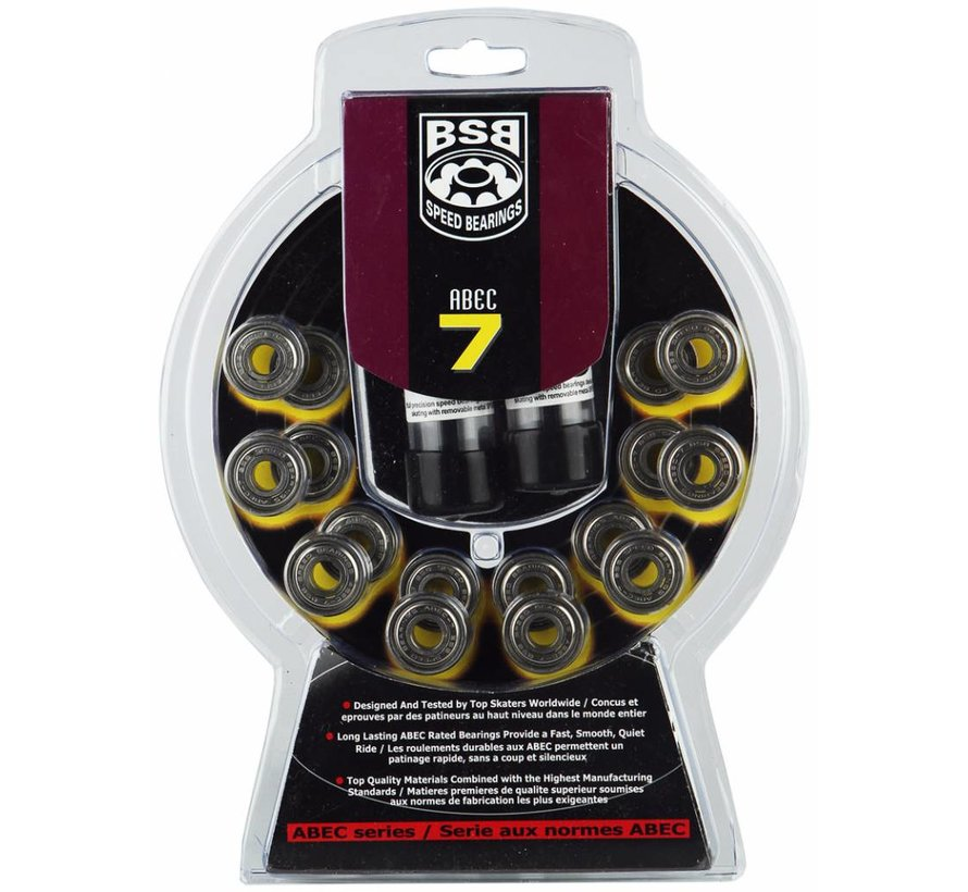 Abec 7 Skate Lagers