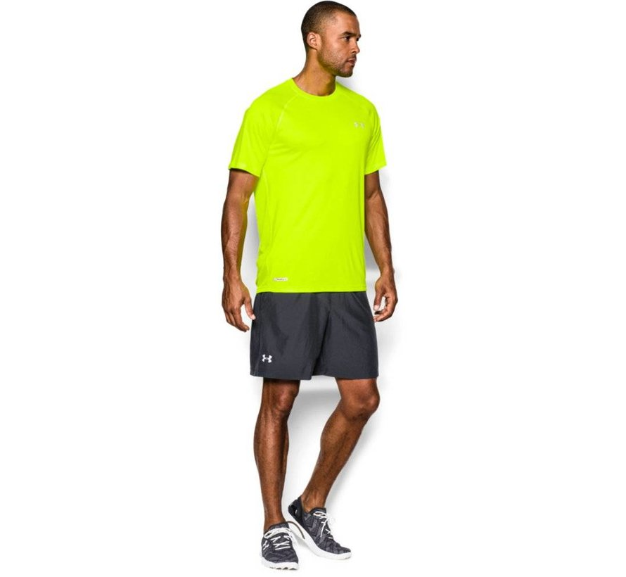 Men's HeatGear® Flyweight Run Short Sleeve T-Shirt