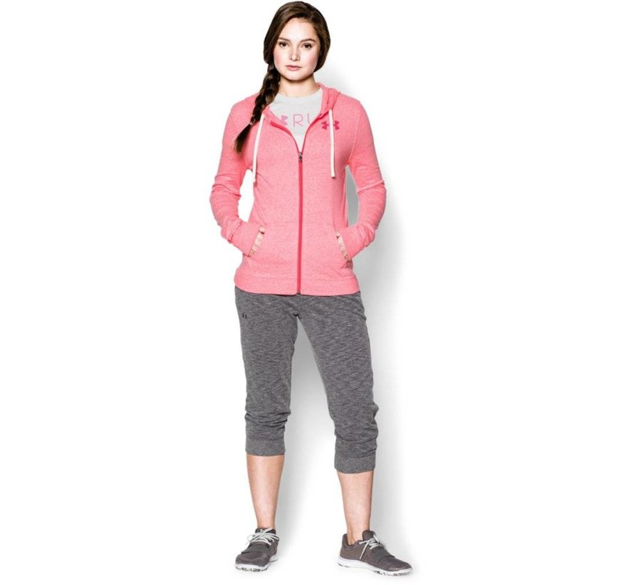 Vrouwen Charged Cotton® Tri-Blend Full Zip Hoody