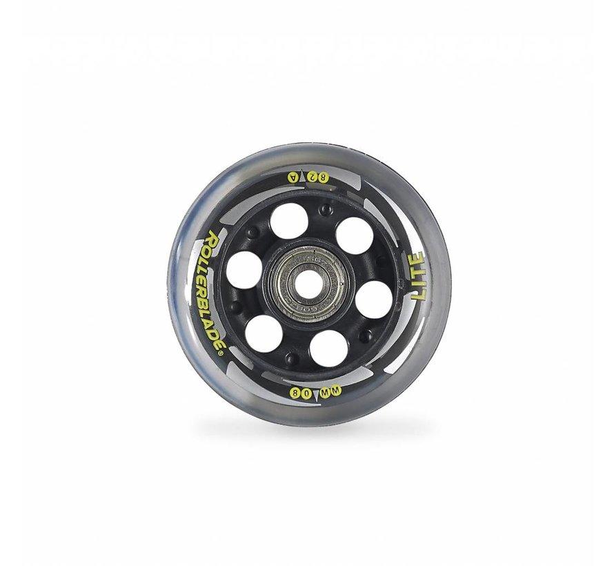 80mm Inline Skate Wheels 8-Pack