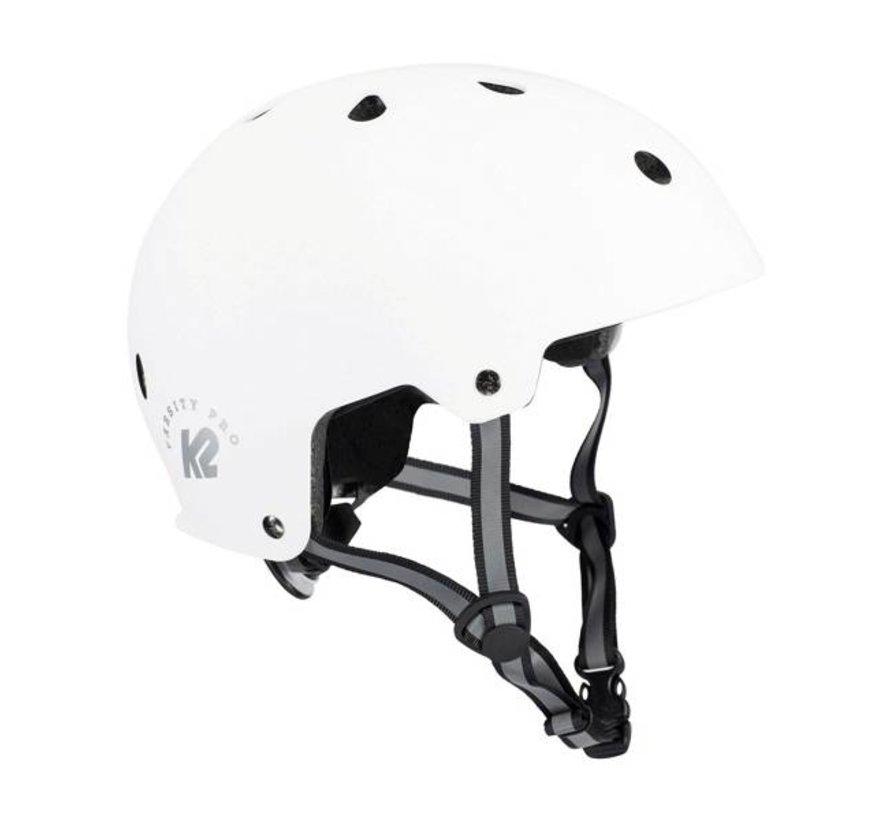Varsity Pro Skate Helmet White