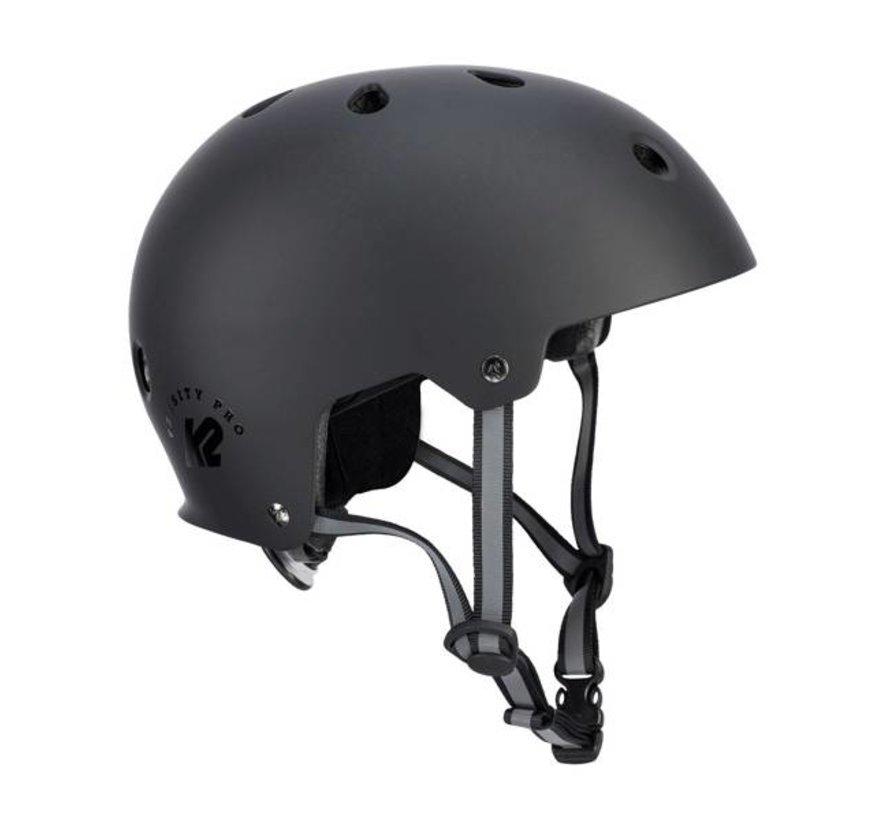 Varsity Pro Skate Helm Zwart