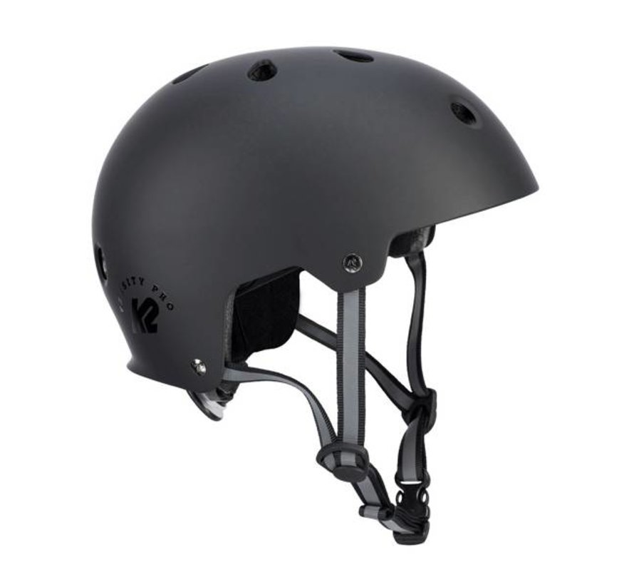Varsity Pro Skate Helmet Black