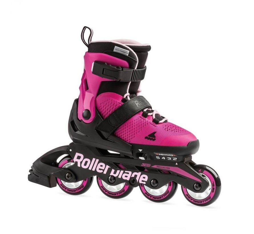 Microblade Adjustable Kids Skates Pink/Bubblegum