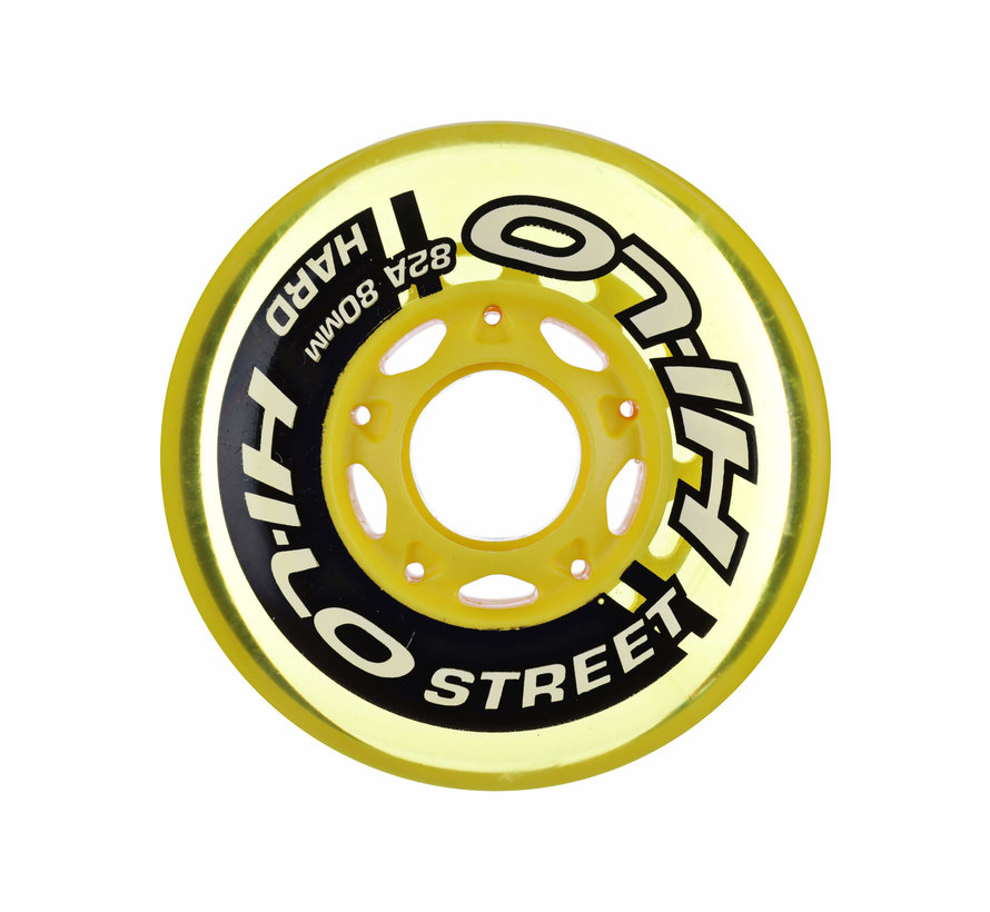 Hi-Lo 72mm Inline Skate Wheels 4-Pack