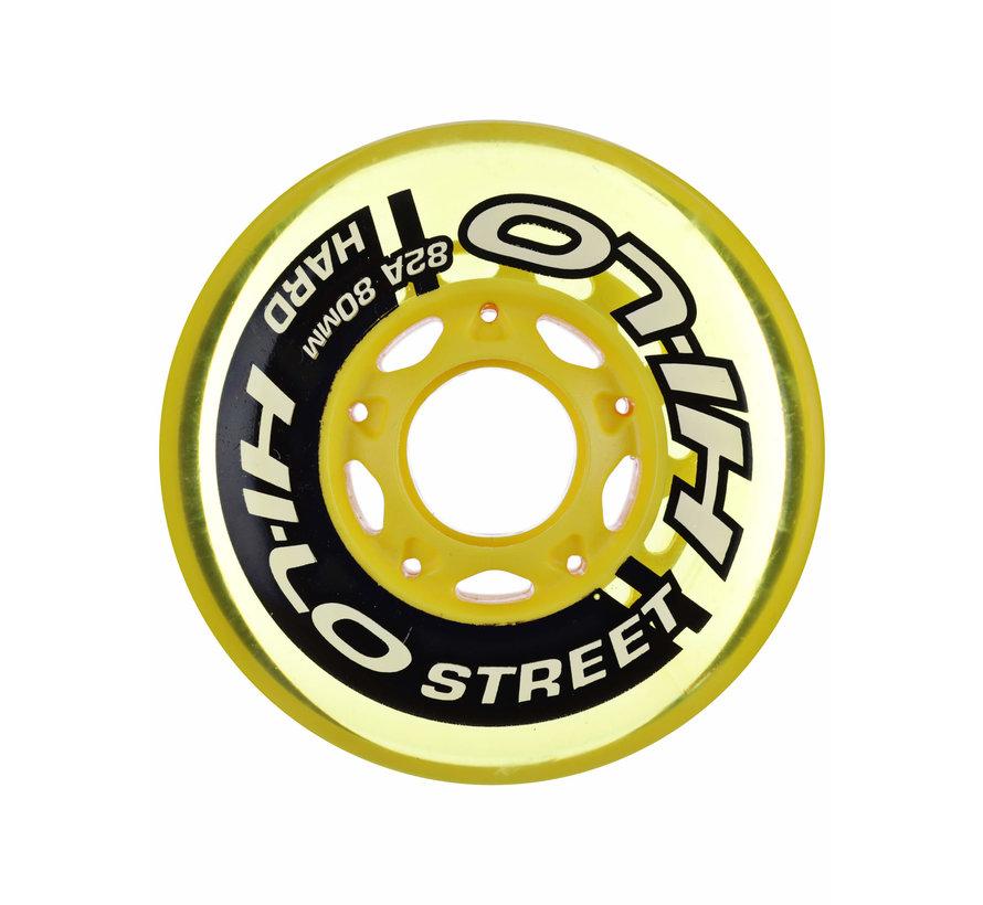Hi-Lo 72mm Inline Skate Wielen 4-Pack