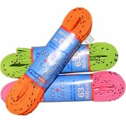 Tex Style Colored hockey wax laces