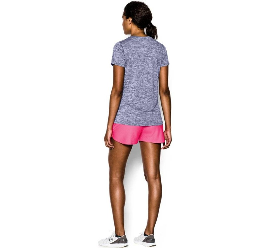 Dames T-shirt Under Armour Twist Tech™ met V-hals
