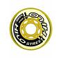 Hi-Lo 76mm Inline Skate Wheels 4-Pack