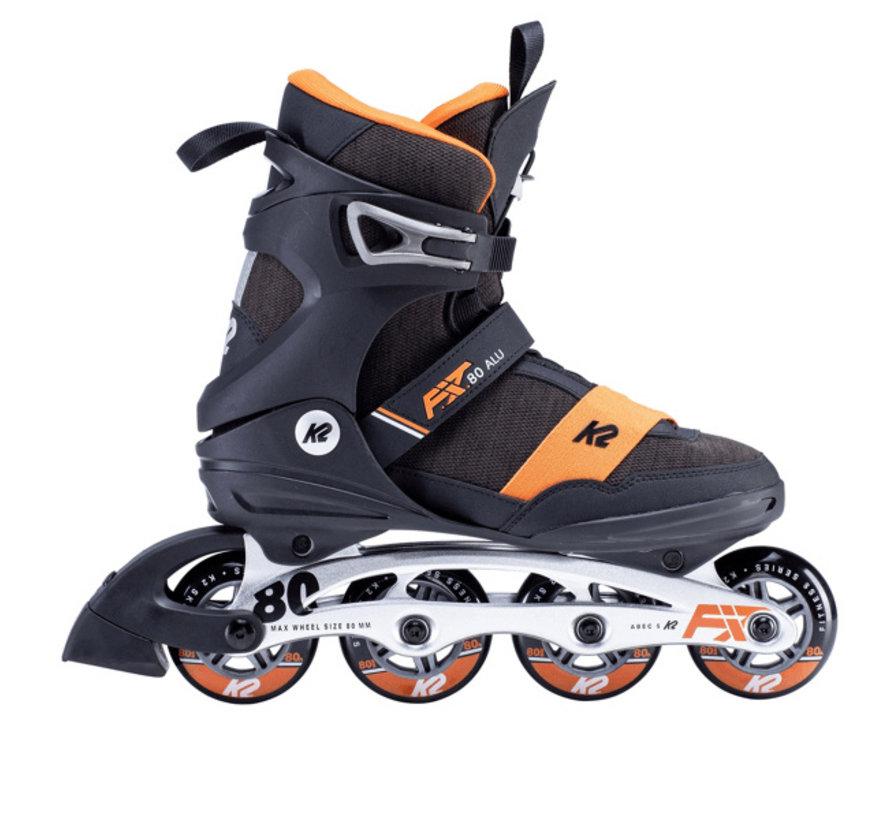 FIT 80 Alu Inline Skates Heren 2020