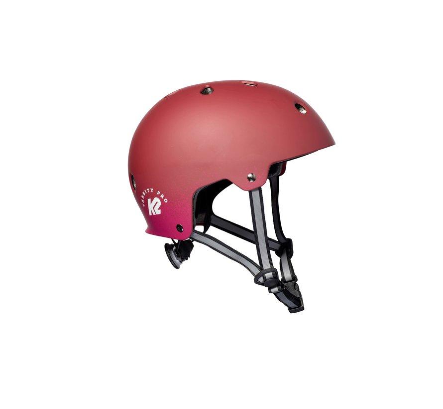 Varsity Pro Skate Helmet Matte Rood
