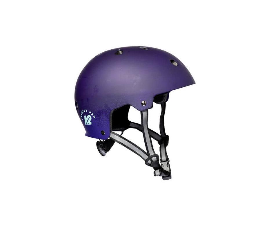 Varsity Pro Skate Helmet Matte Purple