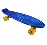 Karnage Penny Board Blauw Chroom