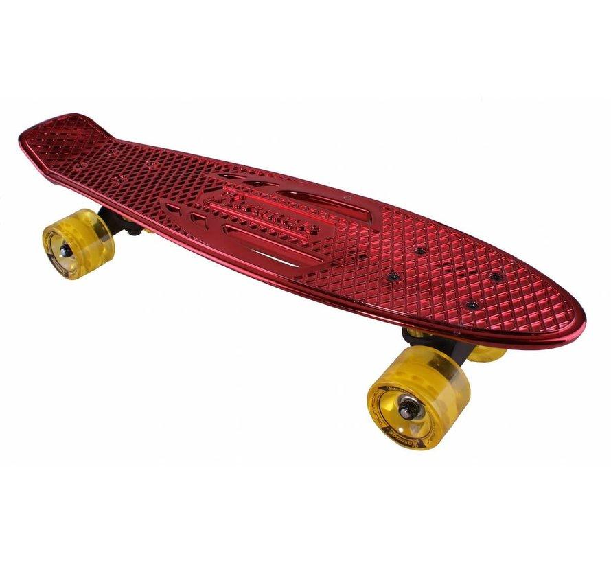 Retro Penny Board Rood Chroom