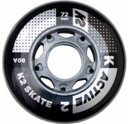 K2 80mm Inline Skate Wheels 4-pack