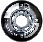 K2 80mm Inline Skate Wielen 4-pack