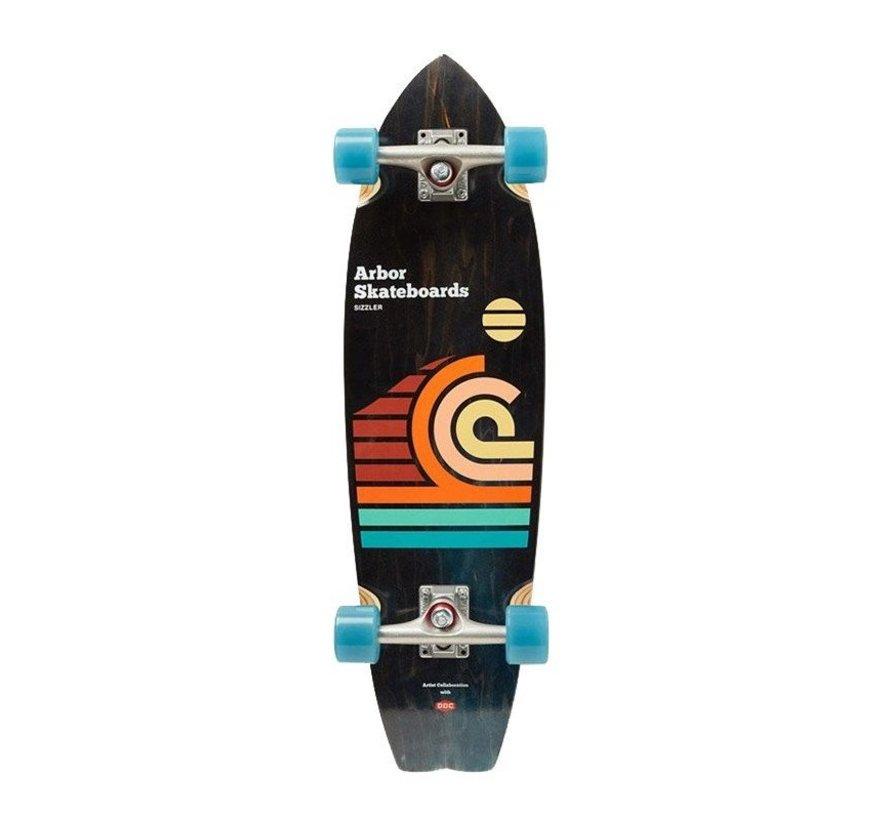 Artist Series Draplin Sizzler Skateboard Complete