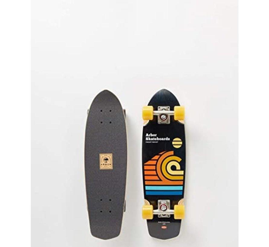 Artist Series Draplin Pocket Rocket Skateboard Complete
